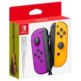 Ovladač Nintendo Joy-Con Pair Neon Purple/Neon Orange (NSP078)