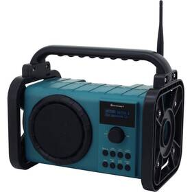 Radiopřijímač s DAB+ Soundmaster DAB80 zelený