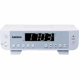 Radiopřijímač Lenco KCR-11 bílý