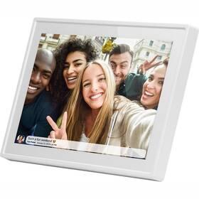 Elektronický fotorámeček Sencor SDF 1090 W bílý