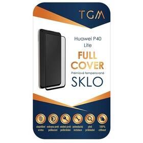 Tvrzené sklo TGM Full Cover na Huawei P40 lite (TGMHUAP40L) černé