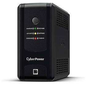 Záložní zdroj Cyber Power Systems UT GreenPower Series UPS 850VA/425W, české zásuvky (UT850EG-FR)