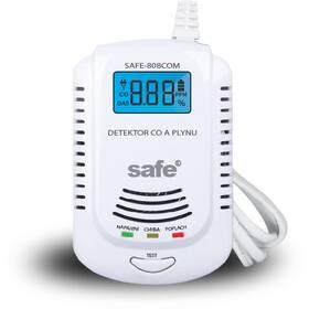 Detektor plynů Safe 808 COM Kombinovaný detektor CO a výbušných plynů (SAFE 808COM)