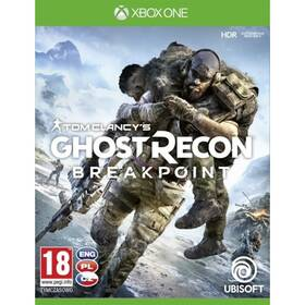 Hra Ubisoft Xbox One Tom Clancy's Ghost Recon Breakpoint (USX307361)