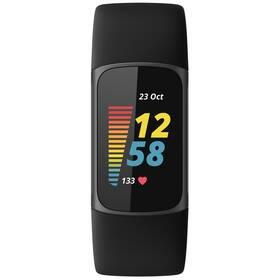 Fitness náramek Fitbit Charge 5 - Black (FB421BKBK)