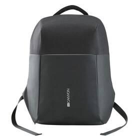 """Batoh na notebook Canyon Anti-theft pro 15.6"""", integrované USB (CNS-CBP5BB9) černý"""