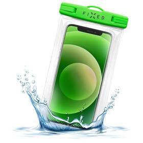 Pouzdro na mobil sportovní FIXED Float Edge, IPX8 (FIXFLT-EG-LM) zelené