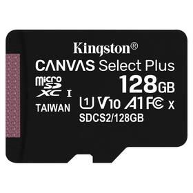 Paměťová karta Kingston Canvas Select Plus MicroSDXC 128GB UHS-I U1 (100R/10W) (SDCS2/128GBSP)