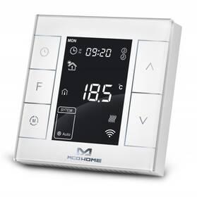 Termostat MCO Home MH7 V2 pro elektrické topení, Z-Wave Plus (MCO-MH7H-EH) bílý