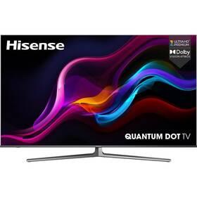 Televize Hisense 65U8GQ černá/šedá