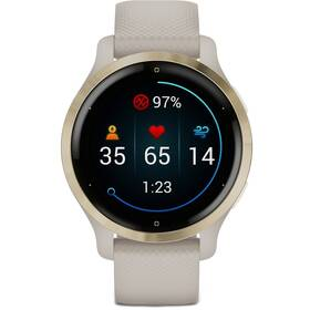 GPS hodinky Garmin Venu2S Light Gold/Sand Band (010-02429-11)