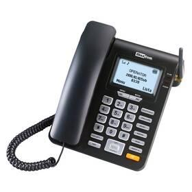 Domácí telefon MaxCom MM28D (MM28DHS) černý
