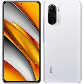 Mobilní telefon Poco F3 128 GB 5G - ZÁNOVNÍ - 12 měsíců záruka bílý