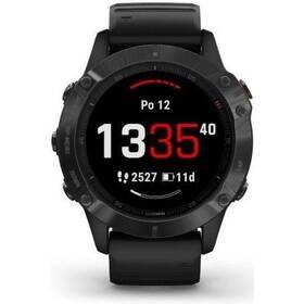 GPS hodinky Garmin fenix6 PRO Glass (MAP/Music) (010-02158-02) černé