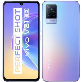 Mobilní telefon vivo V21 5G - Sunset Dazzle (5658170)