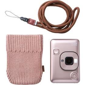 Digitální fotoaparát Fujifilm Instax Mini LiPlay Bundle Hard zlatý