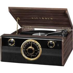 Gramofon Victrola VTA-240B dřevo