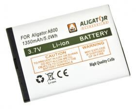 Baterie Aligator A430, A600, A610, A620, A670, A680, Li-Ion 1350 mAh (A600BAL)