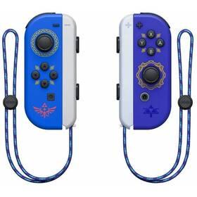 Ovladač Nintendo SWITCH Joy-Con Pair Hylian Shield and Master Sword (NSP072) modrý/fialový