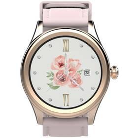 Chytré hodinky Carneo Prime GTR woman (8588007861319) růžové/zlaté