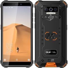 Mobilní telefon Oukitel WP5 (WP5 Orange) černý/oranžový