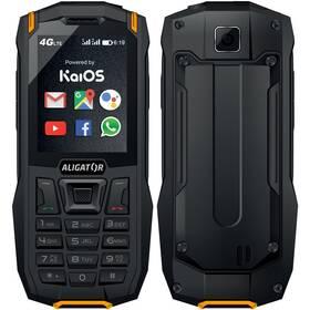 Mobilní telefon Aligator K50 eXtremo (AK50BO) černý/oranžový
