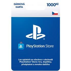 Předplacená karta Sony PLAYSTATION STORE – DÁRKOVA KARTA 1000KČ - pouze pro CZ PS Store (PS719894032)