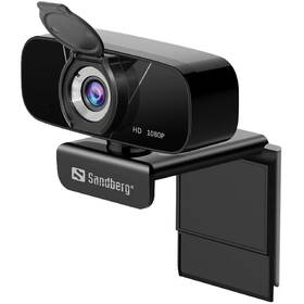 Webkamera Sandberg Webcam Chat 1080p (134-15) černá