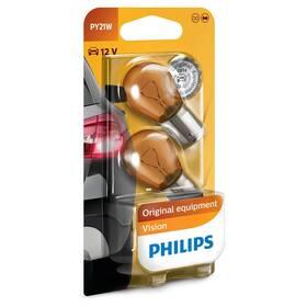 Autožárovka Philips Vision PY21W, 2ks (12496NAB2)