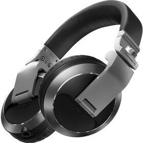 Sluchátka Pioneer DJ HDJ-X7-S (HDJ-X7-S) stříbrná