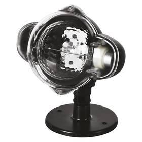 Dekorativní LED projektor EMOS padající vločky, venkovní i vnitřní, bílá (DCPC03)