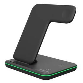 Bezdrátová nabíječka Canyon 3v1 pro telefon, Apple Watch, Airpods (CNS-WCS303B) černá