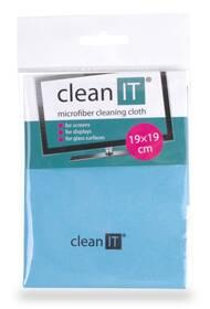 Utěrka Clean IT z mikrovlákna, malá světle modrá (CL-710)