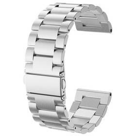Řemínek WG na Garmin fenix 5, kovový (9139) stříbrný