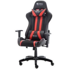 Herní židle Sandberg Commander (640-81) černá/červená