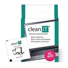Čistící ubrousky Clean IT vlhčené, 52 ks (CL-150)