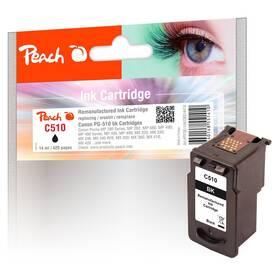 Inkoustová náplň Peach Canon PG-510, 420 stran, kompatibilní (314474) černá
