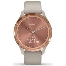 Chytré hodinky Garmin vivomove3S Sport RoseGold/Sand (010-02238-22)