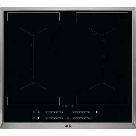 Indukční varná deska AEG Mastery IKE64450XB černá