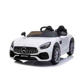 Elektrické autíčko MaDe Mercedes-benz bílé