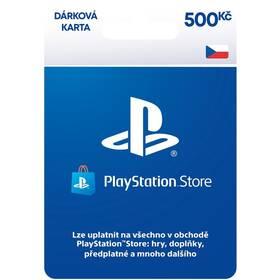 Předplacená karta Sony PLAYSTATION STORE – DÁRKOVA KARTA 500KČ - pouze pro CZ PS Store (PS719894339)