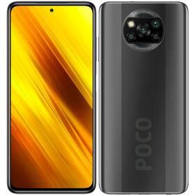 Mobilní telefon Poco X3 128 GB - ZÁNOVNÍ - 12 měsíců záruka šedý