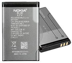 Baterie Nokia BL-5C, Li-Ion 1020mAh - bulk (0278813) šedá