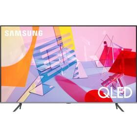 Televize Samsung QE55Q67TA stříbrná