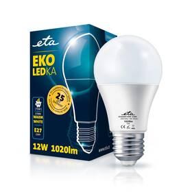 Žárovka LED ETA EKO LEDka klasik 12W, E27, teplá bílá (A60W12WW)