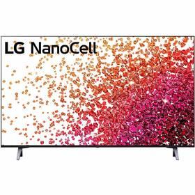 Televize LG 43NANO75P šedá