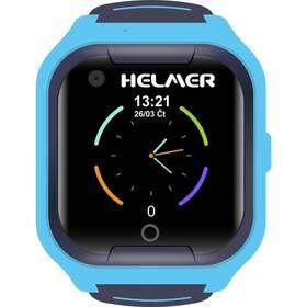 Chytré hodinky Helmer LK709 dětské s GPS lokátorem (Helmer LK 709 B) modrý