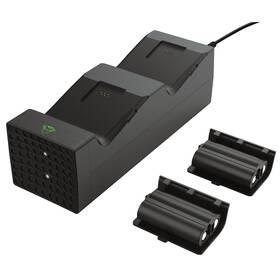 Dokovací stanice Trust GXT 250 Duo Charging Dock pro Xbox Series X/S (24177) černá