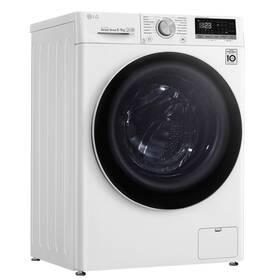 Pračka se sušičkou LG F4DN508N0 bílá
