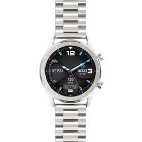 Chytré hodinky Aligator Watch Pro - ZÁNOVNÍ - 12 měsíců záruka stříbrné